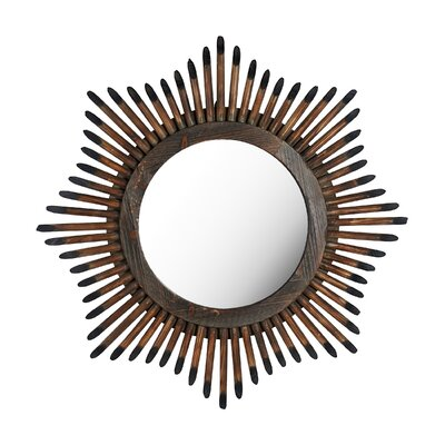Bronze Convex Wall Mirror by Elements
