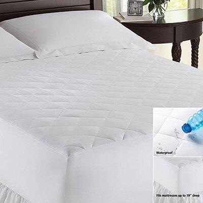 LCM Home Fashions Waterproof Mattress Pad