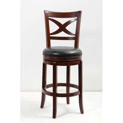 "Mochi Furniture Elmira 29"" Swivel Bar Stool with Cushion"