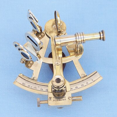 Scout's Sextant Sculpture by Handcrafted Nautical Decor