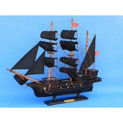 Handcrafted Nautical Decor Henry Avery's the Fancy Model Ship