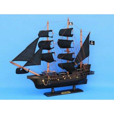 Handcrafted Nautical Decor Edward England's Pearl Model Ship