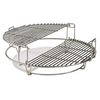 Kamado Joe ClassicJoe with Cart, Heat Deflector, & Side Shelves