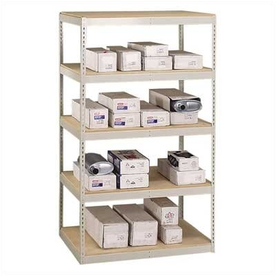 "Penco Muffler Storage 84"" H 4 Shelf Shelving Unit Starter"