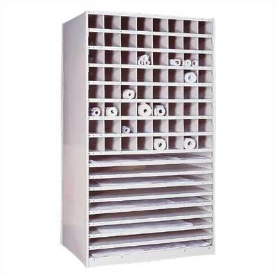 Penco Special Purpose Units - Plan Storage Shelving Basic Unit