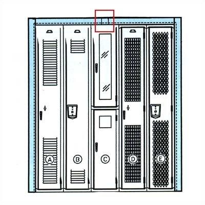 Penco Locker Parts -Trim Splice