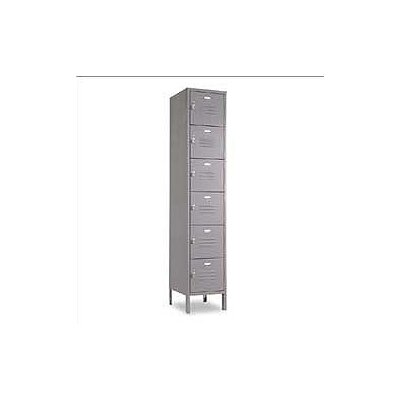 Penco Vanguard 6 Tier, 1 Wide Box Locker