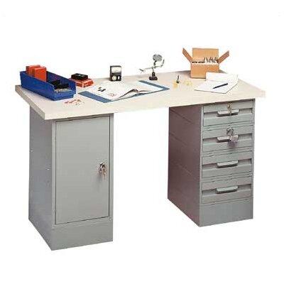 Penco Modular Steel Top Workbench
