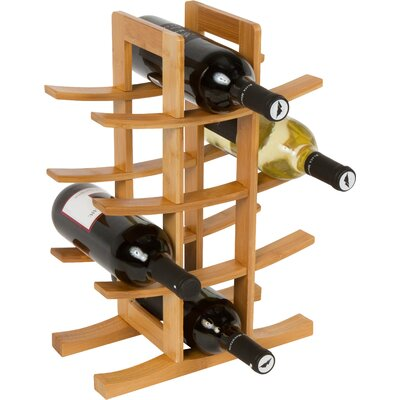 12 Bottle Table Top Wine Rack by Trademark Innovations
