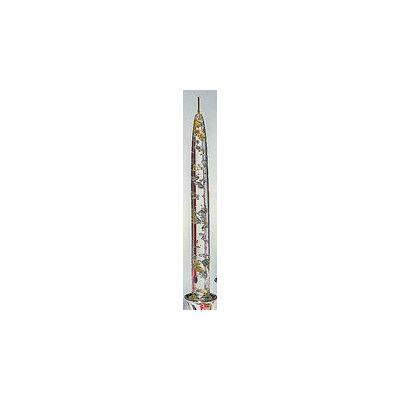 Badash Crystal Fleck Taper Candle