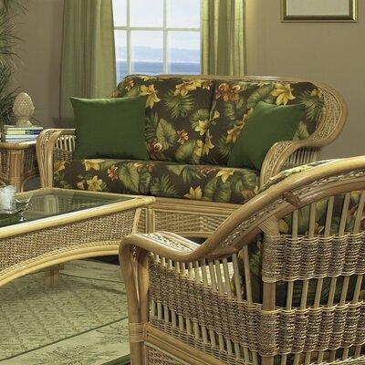 Tropical Breeze Loveseat by ElanaMar Designs