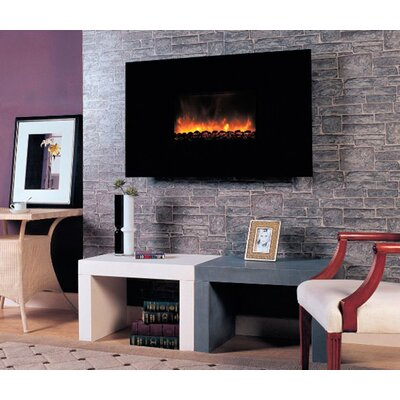 Wall Mount Electric Fireplace by Dynasty