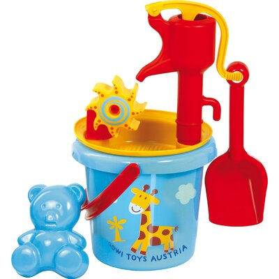 Water Mill Sand Toy with Pump by Gowi Toys Austria