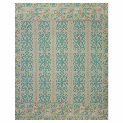 Tamar Teal/Green Area Rug by Feizy