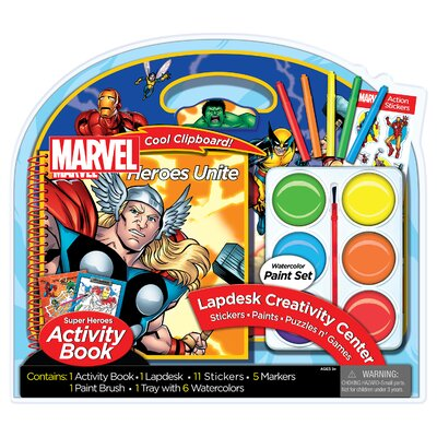 Marvel Lapdesk with Jumbo Paints by Artistic Studios