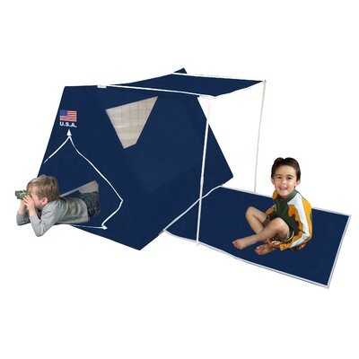 USA American Fort Play Tent by Kid's Adventure