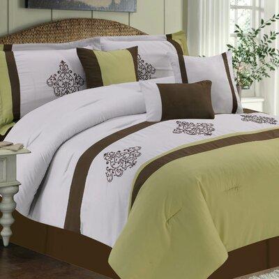 Cameo 7 Piece Comforter Set by CHD HOME TEXTILE LLC