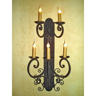 Laura Lee Designs Barcelona 5 Arm Wall Sconce