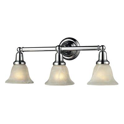 Comvintage Bathroom Lights : Nulco Lighting Vintage Bath 3 Light Bath Vanity Light