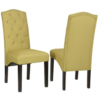 Perri Camelback Parsons Chair by Cortesi Home