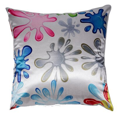 Fun Splat Accent Throw Pillow by Cortesi Home