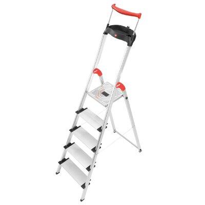 Hailo USA Inc. XXR 5.51 ft Aluminum Step Ladder with 330 lb. Load Capacity