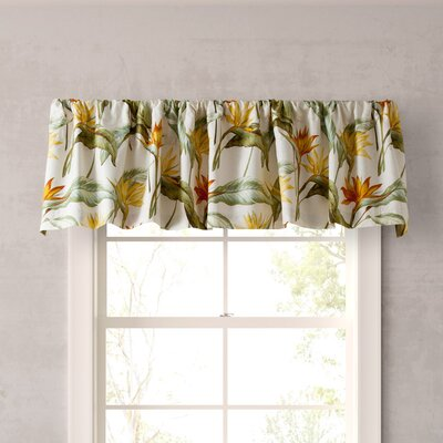 Birds of Paradise Curtain Valance Product Photo