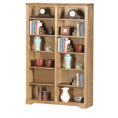 Oak Ridge Double Bookcase