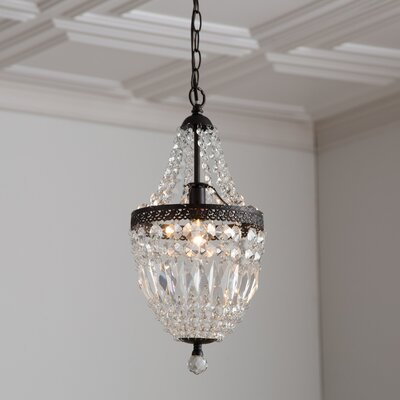 Evelynne Mini Crystal Chandelier Product Photo