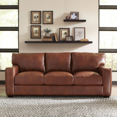 Birch Lane BL8480 Pratt Leather Sofa