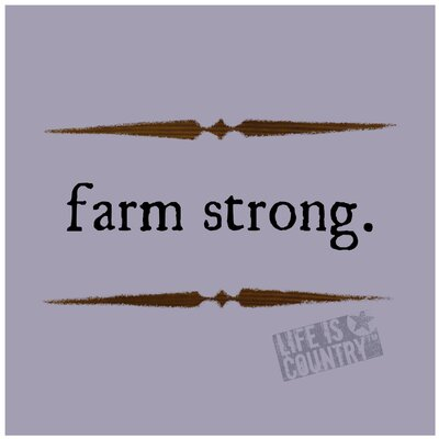 Farm Strong Occasions Trivet by Thirstystone