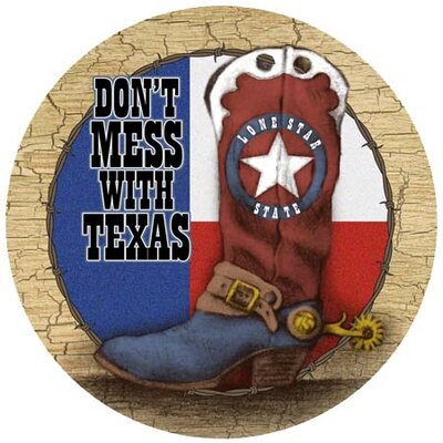 Texas Boot Coaster by Thirstystone