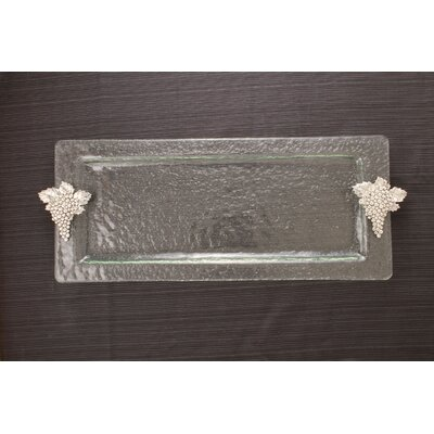 Thirstystone Grapes Rectangular Serving Tray