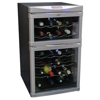 Koolatron 24 Bottle Dual Zone Thermoelectric Wine