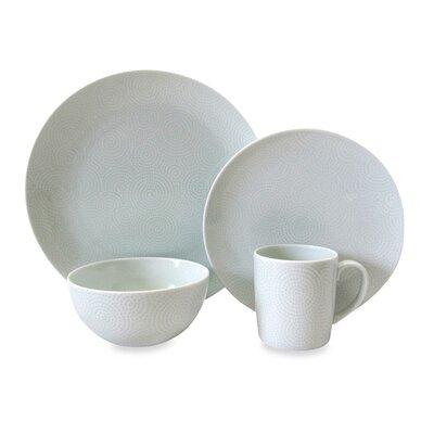 Edokomon 4 Piece Dinnerware Collection by Nikko Ceramics