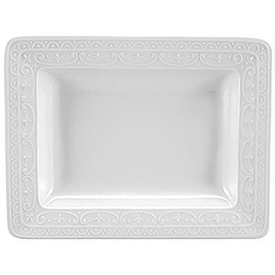 Nikko Ceramics Blanc Fleur Platter