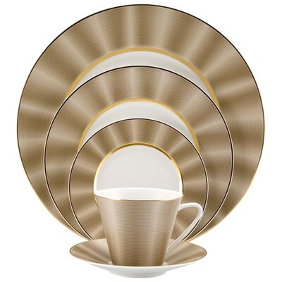 Silk 5 Piece Place Setting by Nikko Ceramics
