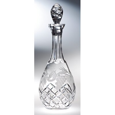 Grape Wine Decanter by Majestic Crystal
