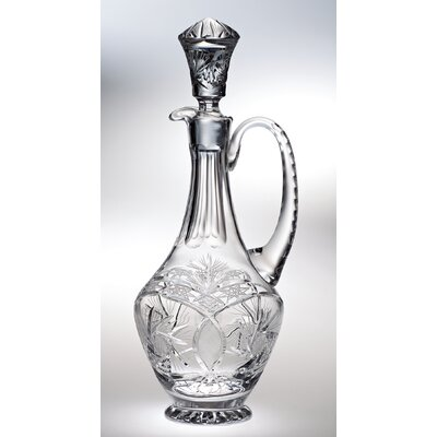 Majestic Crystal Pinwheel Over sized Decanter