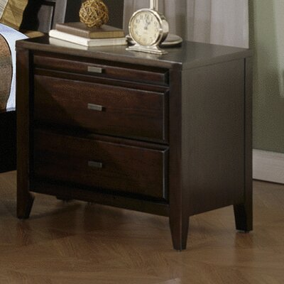Kendall 2 Drawer Nightstand by Casana Furniture Company