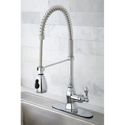 American Classic Gourmetier Single Handle Pull-Down Spray Kitchen Faucet Product Photo