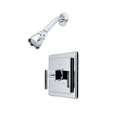 Kingston Brass Claremont Single Handle Tub and Shower Faucet