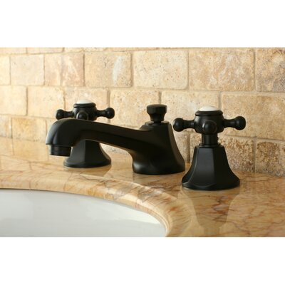 Metropolitan Double Handle Widespread Bathroom Faucet with Brass Pop-up Product Photo