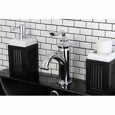 Royale Single Handle Centerset Bathroom Faucet with Pop-Up Drain Product Photo
