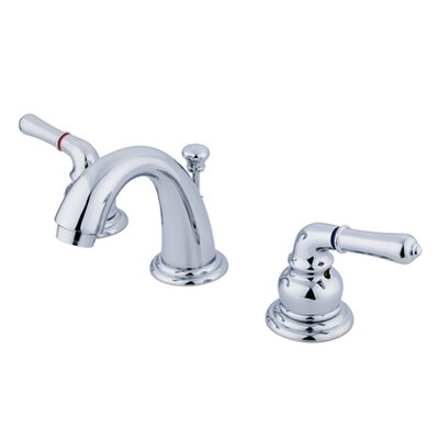 Magellan Double Handle Widespread Bathroom Faucet with 50/50 Pop-Up Drain Product Photo