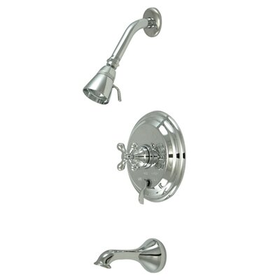 Restoration Single Handle Tub and Shower Faucet Product Photo