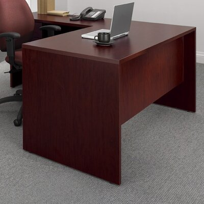 Global Total Office Genoa Executive Desk with Single Pedestal