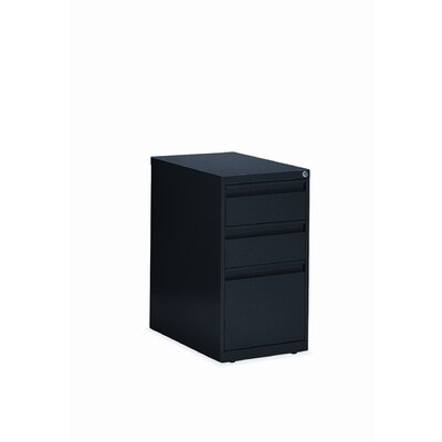 Global Total Office 3-Drawer Box/File Pedestal