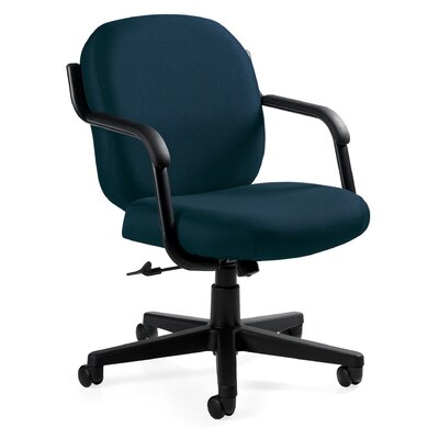 Global Total Office Commerce Mid-Back Pneumatic Office Chair