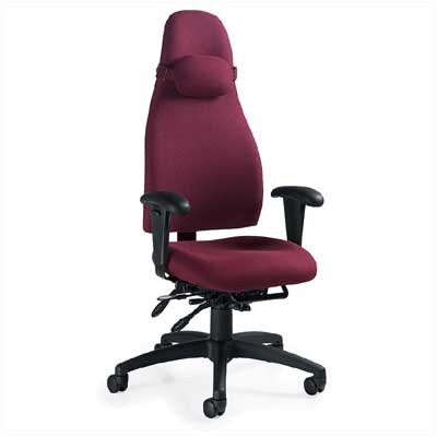 Global Total Office OBUSForme High-Back Pneumatic Executive Chair